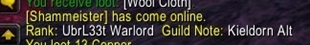 wow addon Guild and Friend Note Announcer
