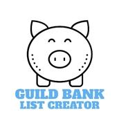 wow addon Guild Bank List Creator