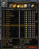 Guild Bounty Hunter