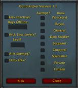 wow addon Guild Kicker