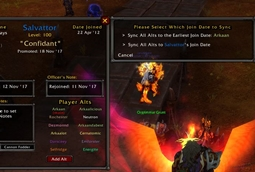 wow addon Guild Roster Manager