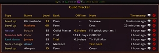 wow addon Guild Tracker
