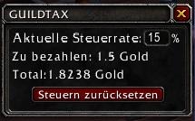 wow addon Guildtax
