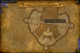 HandyNotes – Legion Class Order Halls