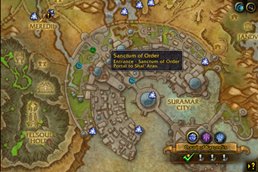wow addon HandyNotes – Suramar and Shal\'Aran Telemancy