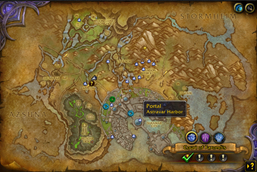 HandyNotes – Suramar and Shal\'Aran Telemancy
