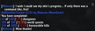 wow addon Hidden Skin Tracker