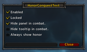 HonorConquestText