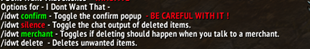 wow addon I Dont Want That