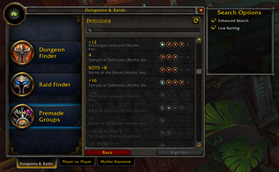 wow addon Improved LFG Search