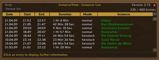 InstanceTime
