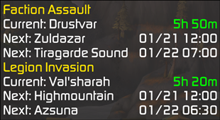 wow addon InvasionTimer