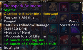 wow addon Ion\'s Sufficient Tooltips