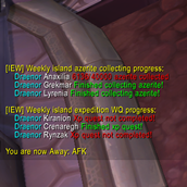 wow addon IslandExpeditionsWeekly