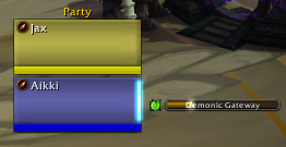 wow addon Jax Party Cast Bars