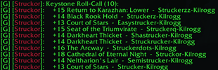wow addon Keystone Roll-Call