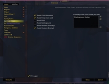 wow addon KuiNameplates: Fade Filters