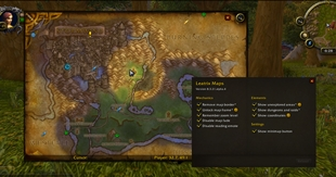 wow addon Leatrix Maps (Retail)