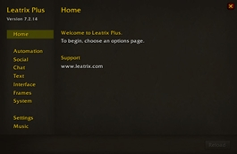 wow addon Leatrix Plus