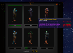 wow addon Legion Wardrobe