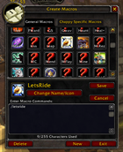 wow addon Let\'s Ride