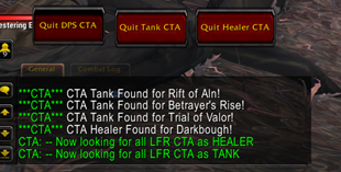 wow addon LFR Call to arms CTA