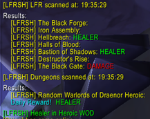 wow addon LFRSatchelHelper