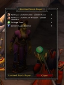 wow addon Limited Stock Buyer
