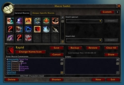 wow addon Macro Toolkit