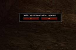 Master Looter Reminder