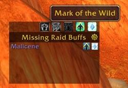 Missing Raid Buffs