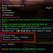 wow addon MOAR DOTS Loot Priority Tooltip