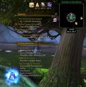 wow addon Movable Objectives Window