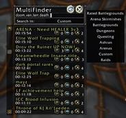 wow addon MultiFinder