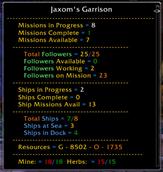 My Garrison is Done