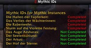 MythicIDs