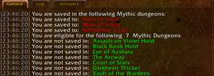 wow addon MythicLocks