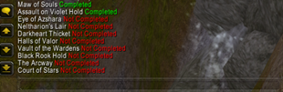 wow addon MythicTracker