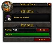 Niggles: Pet Teams