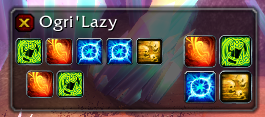 wow addon Ogri\'Lazy