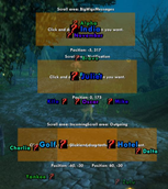 wow addon Parrot 2