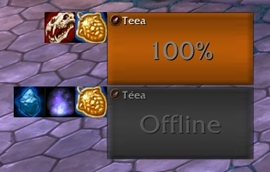 wow addon Party Ability Bars WoD