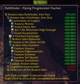 wow addon Pathfinder