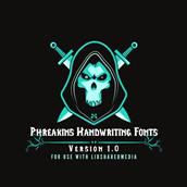 Phreakin's Handwriting Fonts