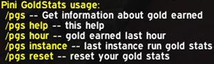 Pini GoldStats