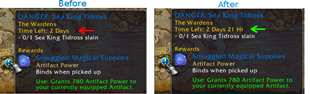 Precise World Quest Timers