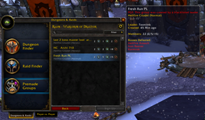 Premade Group Finder