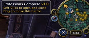 wow addon Professions Complete