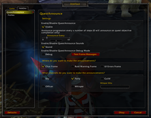 wow addon Quest Announce 3