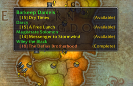 wow addon Questie